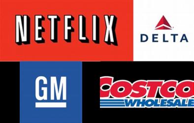 The company logos