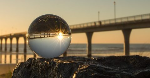 Look into the crystal ball