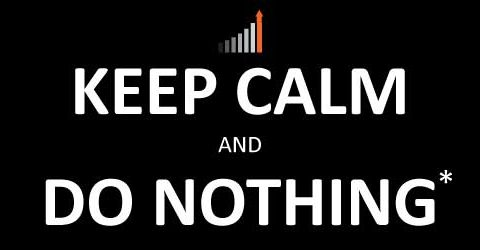 how to react to covid losses keep calm and do nothing*
