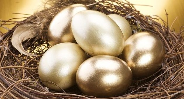 Retirement nest egg at age 45